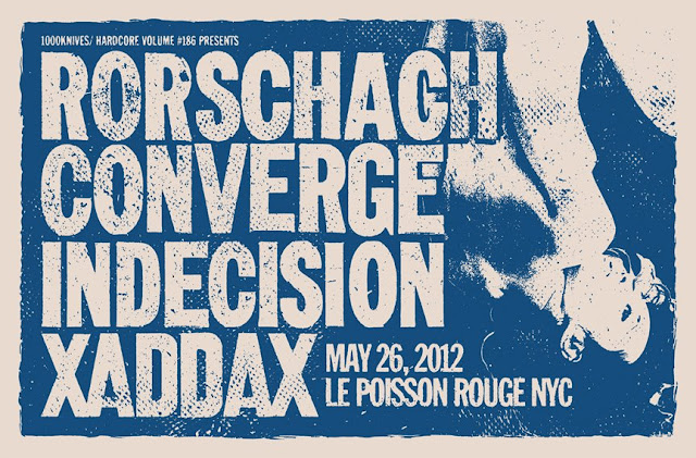 Rorschach-Converge-Indecision-XaddaX @ Le Poisonn Rouge New York City NY 5-26-12