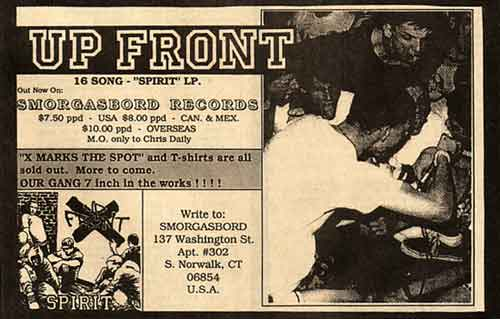 Up Front-Spirit LP