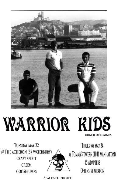 Warrior Kids in New York City 5-22-12
