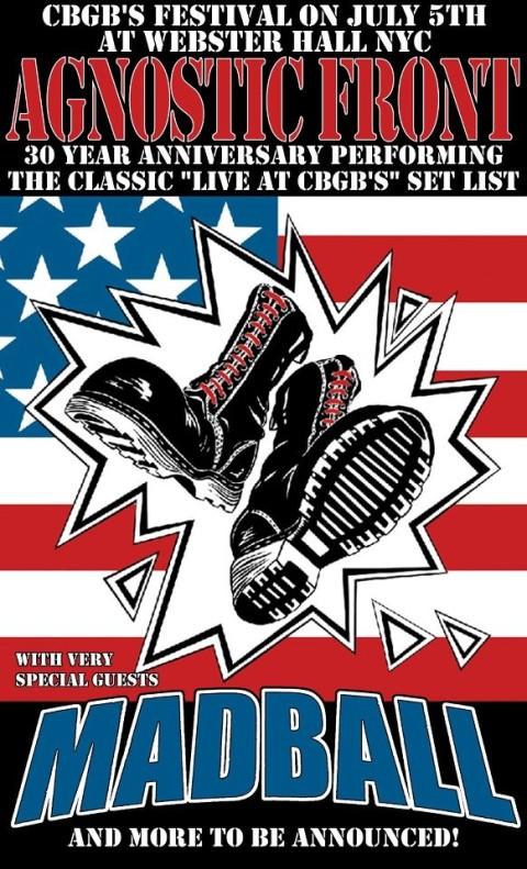 Agnostic Front-Madball @ Webster Hall New York City NY 7-5-12