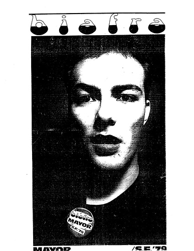 Jello Biafra For Mayor 1979