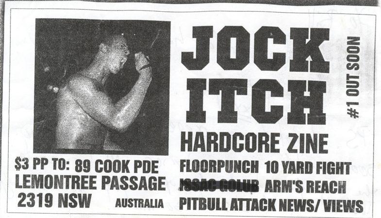 Jock Itch Fanzine