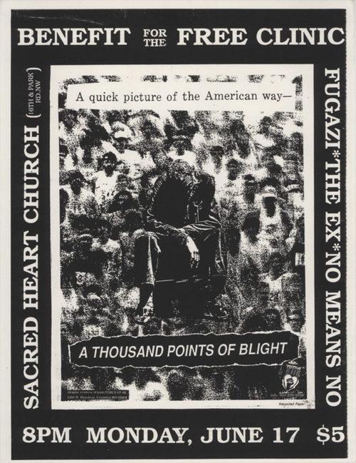 Fugazi-The Ex-No Means No @ Sacred Heart Church Washington DC 6-17-91