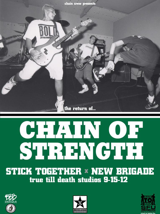 Chain Of Strength-Stick Together-New Brigade 9-15-12