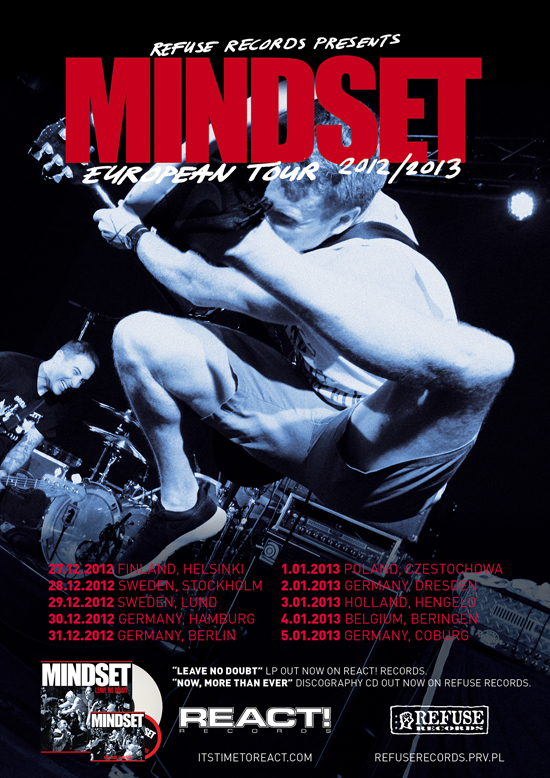 Mindset European Tour 2012/2013