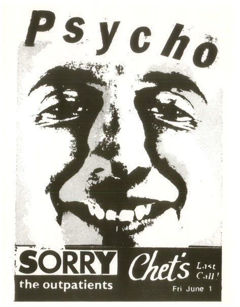 Psycho-Sorry-Outpatients @ Chet's Boston MA 6-1-84