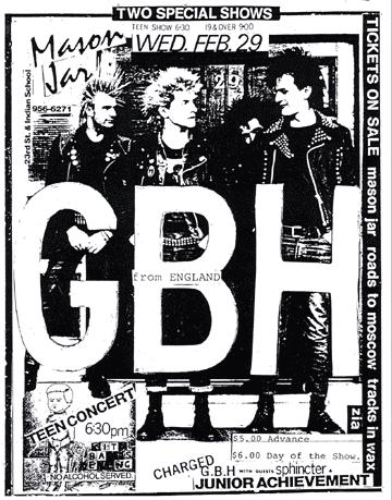 GBH-Junior Achievement @ Mason Jar Phoenix AZ 2-29-84