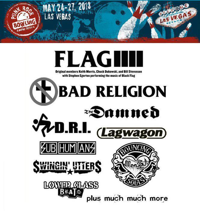 Punk Rock Bowling Festival 2013