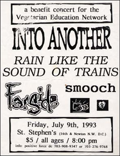 Into Another-Rain Like The Sound Of Trains-Farside-Smooch @ St Stephens Church Washington DC 7-9-93