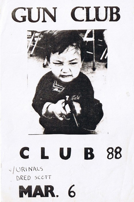The Gun Club-Urinals-Dred Scott @ Club 88 Los Angeles CA 3-6-80