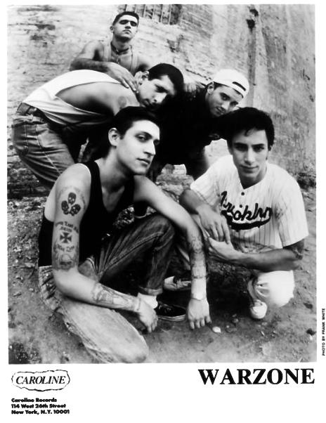 War Zone (Caroline Records)