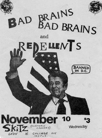 Bad Brains-Repellents @ Skitz Indianapolis IN 11-10-82