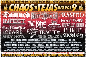 Chaos In Tejas 2013