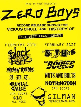 Zero Boys Reunions 2009