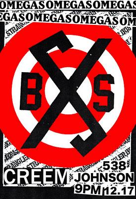 Omegas-Boston Strangler-Creem @ 538 Johnson Brooklyn NY 12-17-11