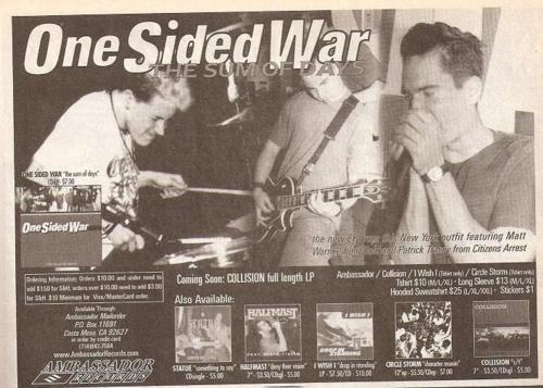 One Sided War (Ambassador Records)