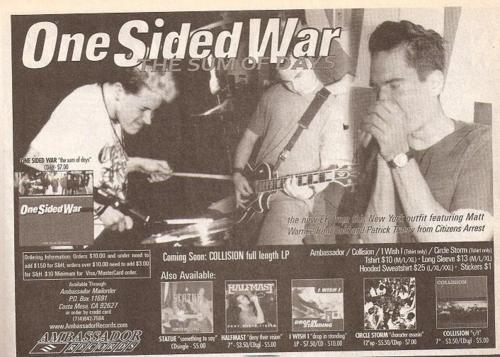 One Sided War (Ambassador Records)