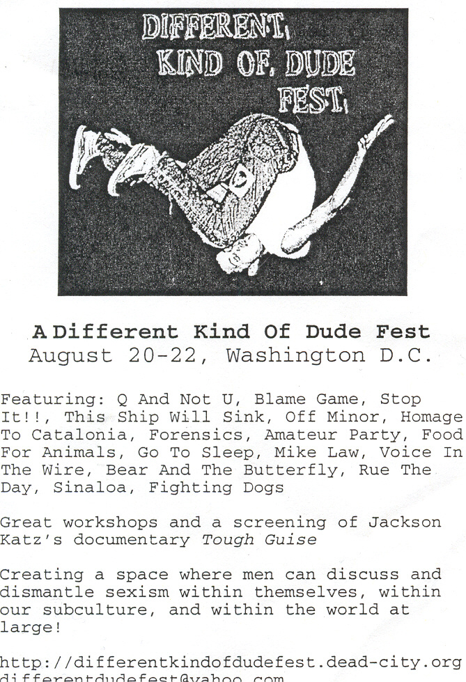 A Different Kind Of Dude Fest