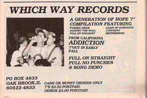 Which Way Records (A Generation Of Hope)