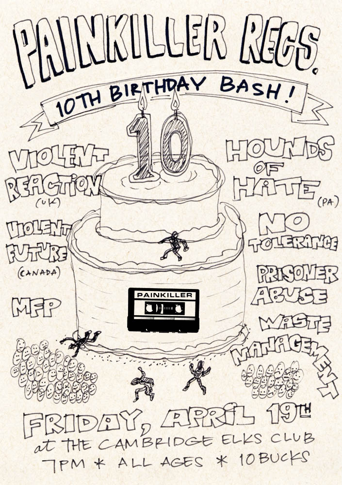 Painkiller Records 10th Anniversary Show