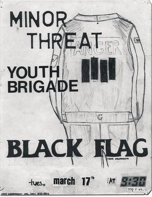 Minor Threat-Youth Brigade-Black Flag @ 930 Club Washington DC 3-17-81