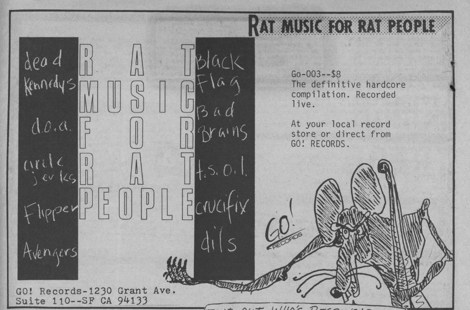 Rat Music For Rat People