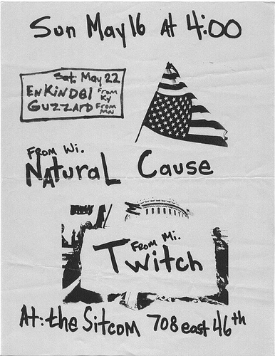 Enkindel-Guzzard-Natural Cause-Twitch @ Indianapolis IN 5-16-93