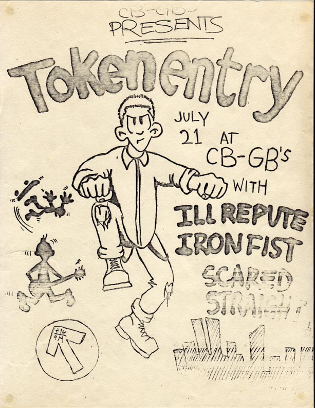 Token Entry-Ill Repute-Iron Fist-Scared Straight @ New York City NY 7-21-86