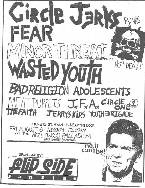 Huge Flipside Fanzine Show 1982