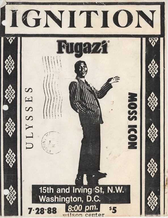 Ignition-Fugazi-Nation Of Ulysses-Moss Icon @ Washington DC 7-28-88