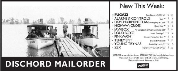 Dischord Mailorder
