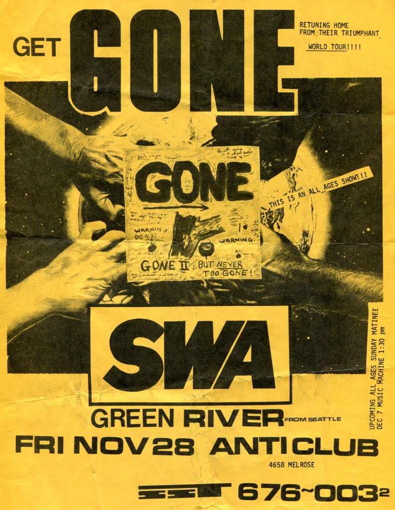 Gone-SWA-Green River @ Los Angeles CA 11-28-87