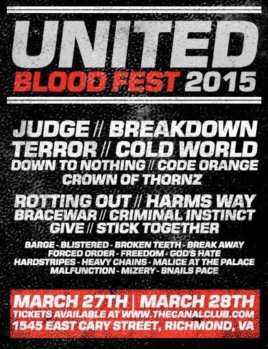 United Blood Fest 2015