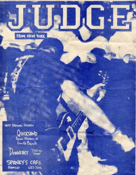 Judge-Quicksand-Downcast @ Riverside CA 1990