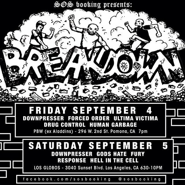 Breakdown West Coast 2015