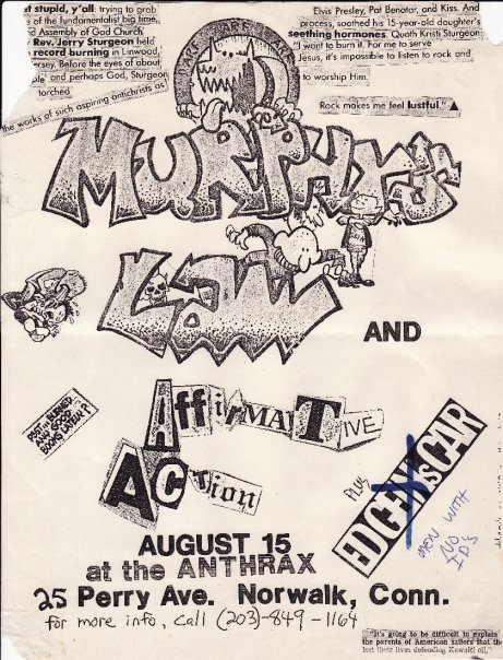 Murphy's Law-Affirmative Action @ Norwalk CT 8-15-88