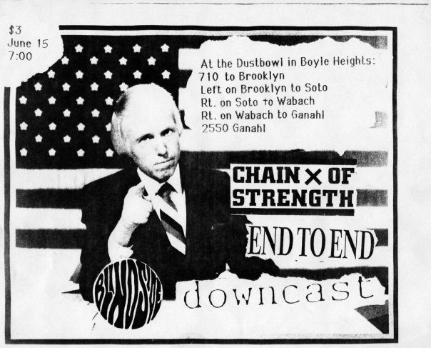 Chain Of Strength-End To End-Downcast @ Los Angeles CA 6-15-UNKNOWN YEAR