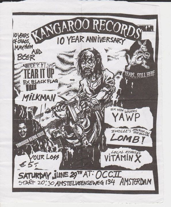 Kangaroo Records 10th Anniversary Show