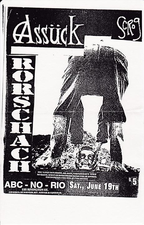 Assuck-Rorschach @ New York City NY 6-19-93