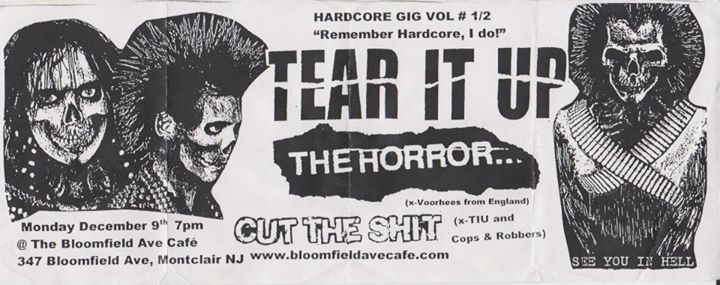 Tear It Up-The Horror-Cut The Shit @ Montclair NJ 12-9-02