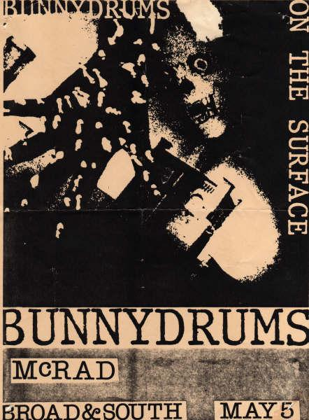 McRad-Bunny Drums @ Philadelphia PA UNKNOWN YEAR