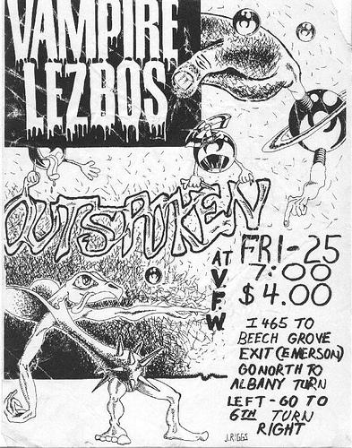 Vampire Lezbos-Outspoken @ Unknown Location/Year