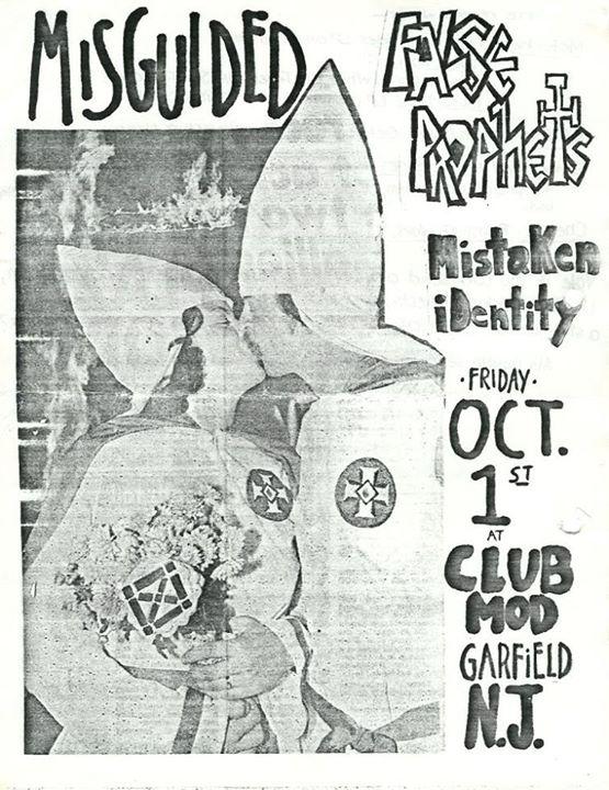 Misguided-False Prophets-Mistaken Identity @ Garfield NJ 10-1-82