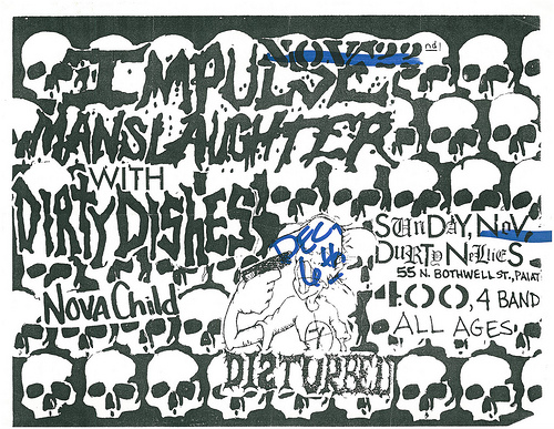Impulse Manslaughter-Dirt Dishes-Nova Child @ Indianapolis IN 11-22-87