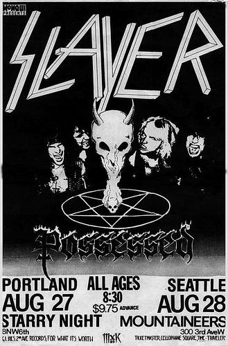 Slayer August 1985