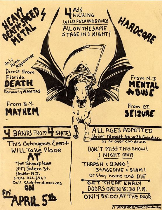 Death-NYC Mayhem-Mental Abuse-Seizure @ Dover NJ 4-5-85