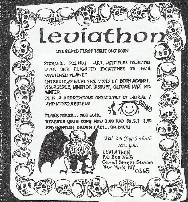 Leviathon Fanzine