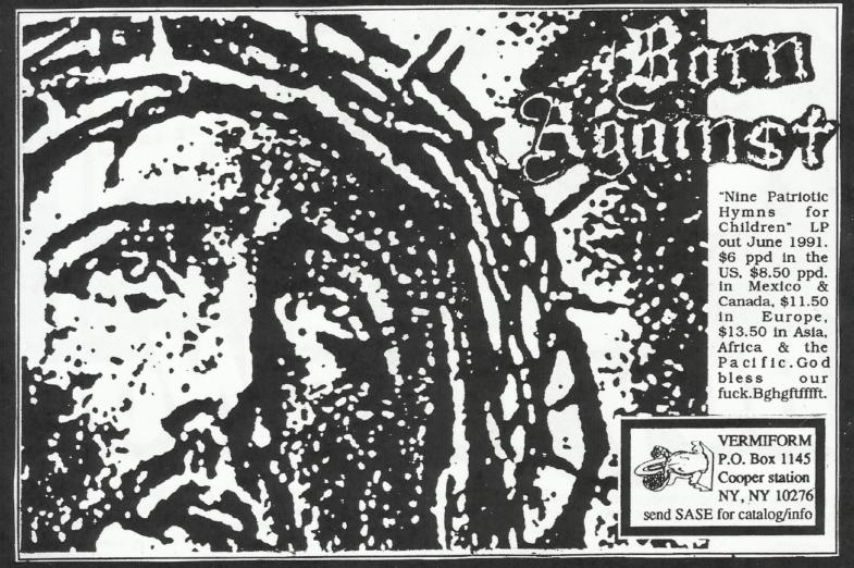 Born Against-Nine Patriotic Hymns For Children (Vermiform Records)