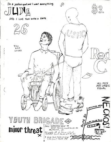 Red C-Necros-Youth Brigade-Minor Threat @ Washington DC 6-26-81