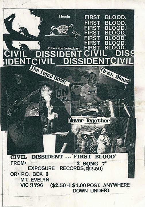 Civil Dissident-First Blood